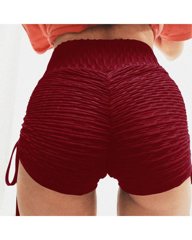 Booty Lifting x Anti-Cellulite Shorts Shaper™ Athletics Red L