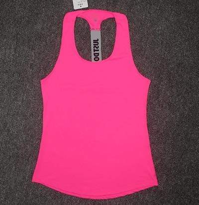 Just Do It Workout Tops Shaper™ Athletics Rose Red L