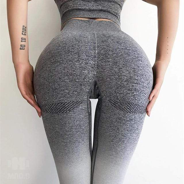 Push Up Ombre Leggings Shaper™ Grey S