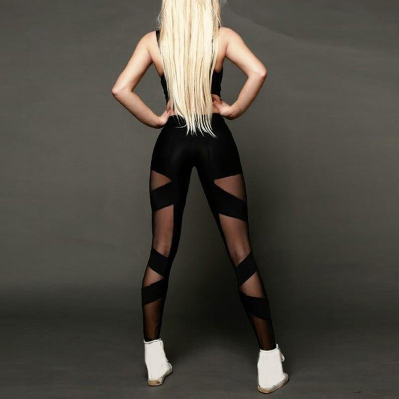 High Waist Mesh Leggings Shaper™