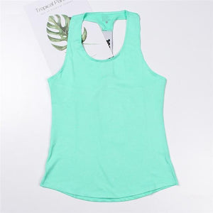 Professional Workout Tops Shaper™ Athletics Green L