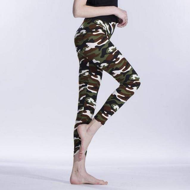 Casual Camouflage Leggings Shaper™ Camouflage 1 One Size