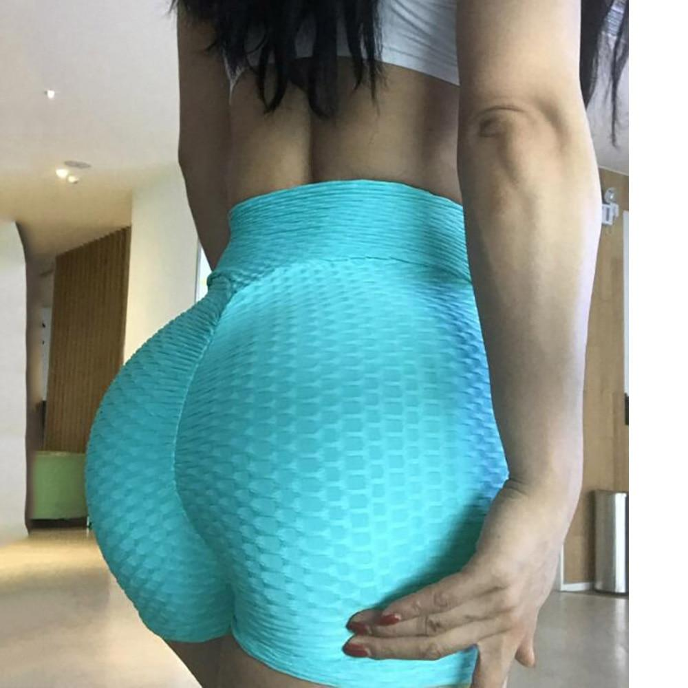Booty Lifting x Anti-Cellulite Shorts Shaper™ Athletics Light Blue L