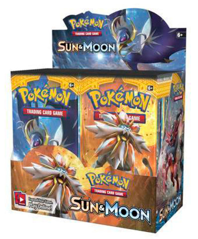 Sun and Moon Booster Box