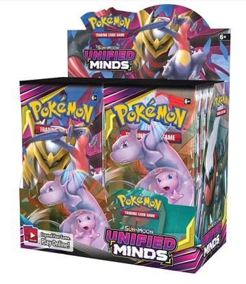 Unified Minds Booster Box (Releases August 2nd, 2019)