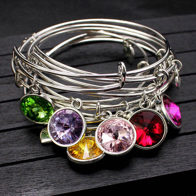 Birthstone Wire Bracelet Offer