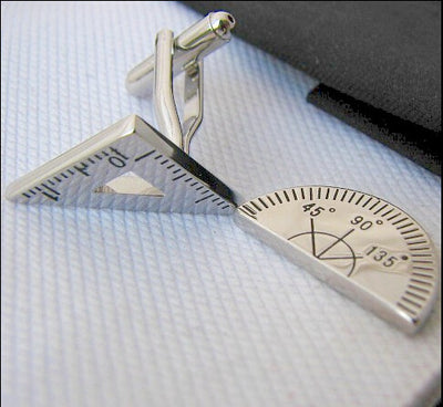 Protractor Cuff Links