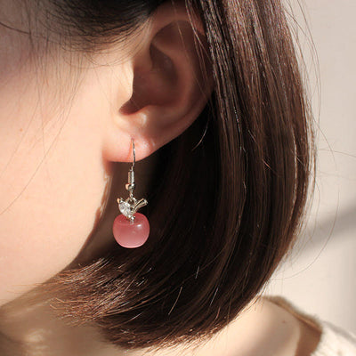 Teacher Apple Earrings