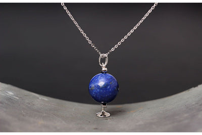 Teacher Globe Necklace