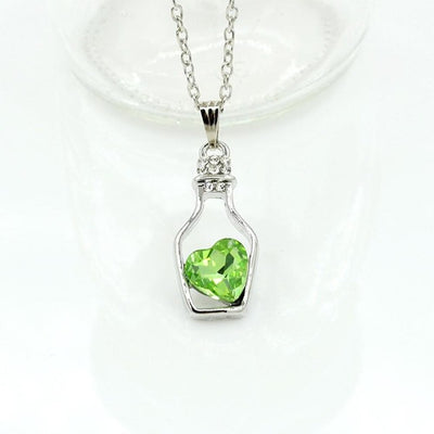 Heart In a Bottle Necklace Offer