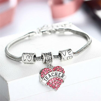 Teacher Heart Bracelet Offer!