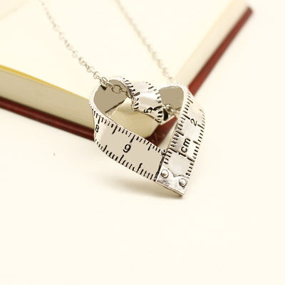 Teacher Ruler Necklace