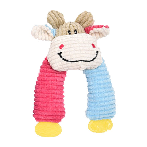 dogestyles-plush-cow-pink-and-blue-arms-dog-toy-front