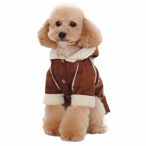 dogestyles-brown-fleeced-dog-jacket-front