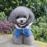 Blue Parka Dog Jacket