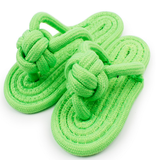 dogestyles-rope-slipper-dog-toy-green