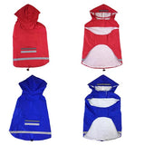 dogestyles-red-and-blue-raincoats