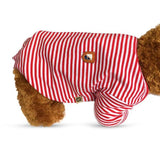 dogestyles-red-striped-dog-pyjamas-side