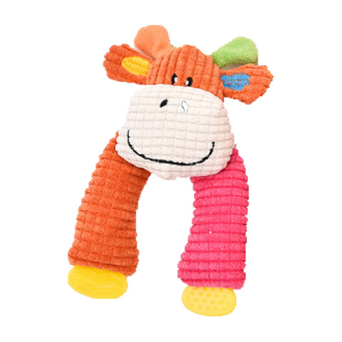 dogestyles-plush-cow-pink-and-orange-arms-dog-toy