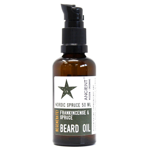 50ml Beard Oil - Frankincense and Spruce