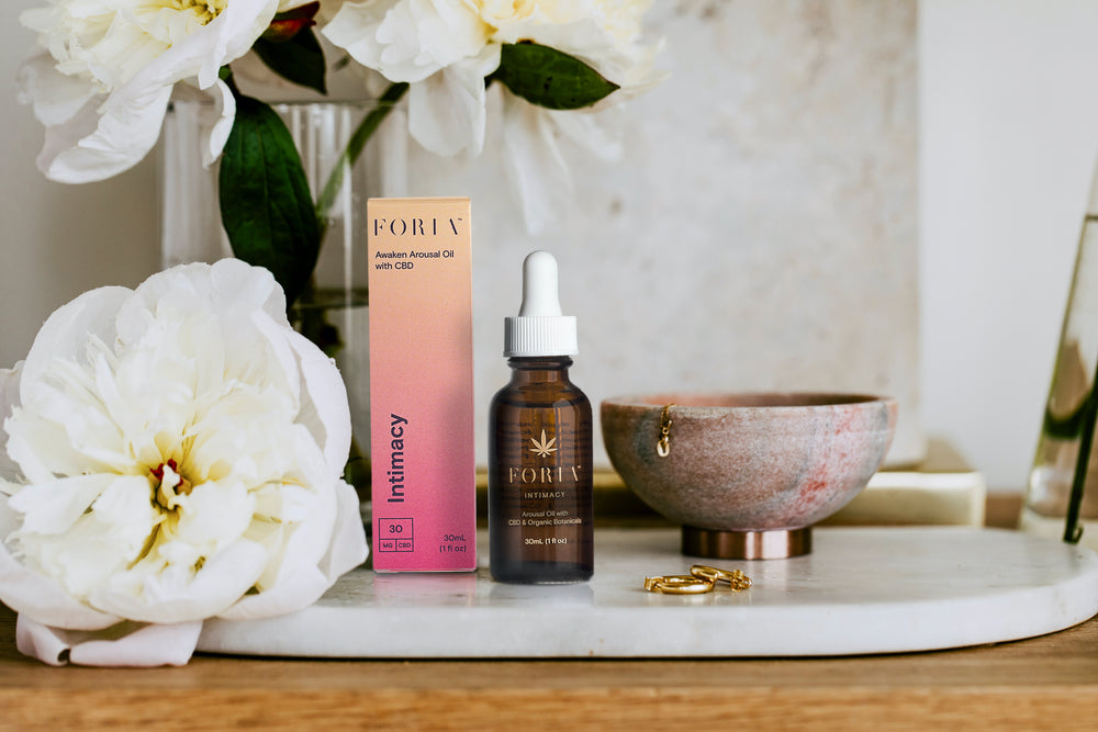 Awaken Arousal Oil with CBD - Foria - The Bloomi