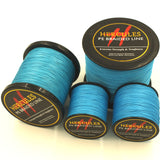 Hercules 4 Strands 100 - 2000 Yard PE Blue Braided Fishing Line