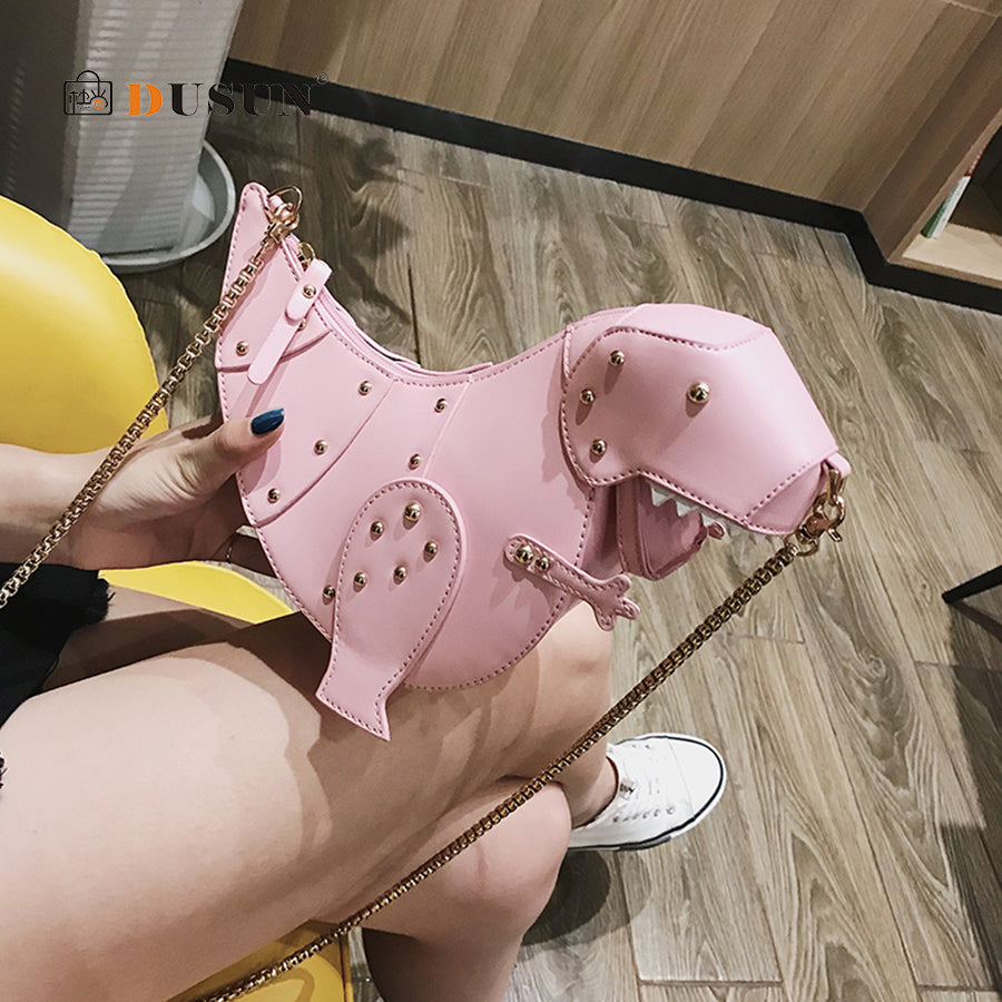 Cutie™ T-Rex Shoulder Handbag
