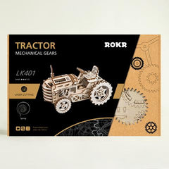 Travis the Tractor Wooden Mechanical Vehicle Building Kit