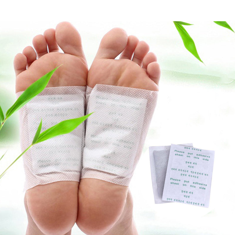 NATURAL GINGER DETOX FOOT PATCH (10 PIECE SET) - BUY 2 SETS, GET 1 FREE!