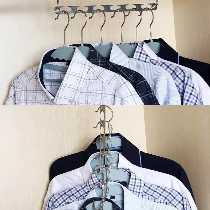 SpaceSaver™ Premium Metal Hanger (6 pcs)