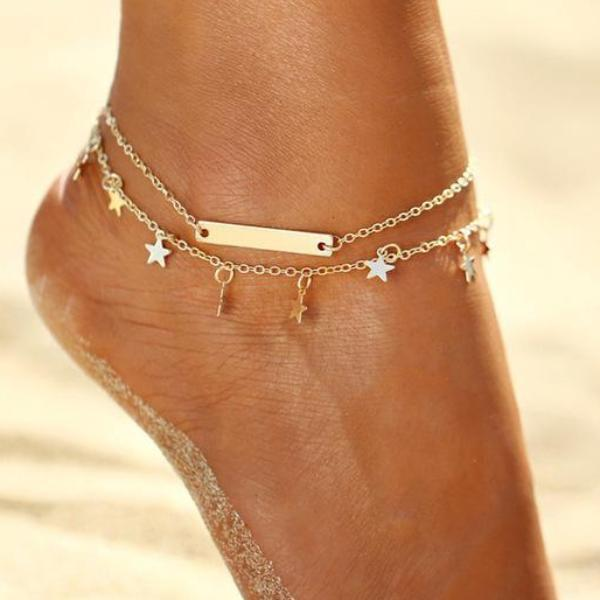 Summer Night Stars Anklet