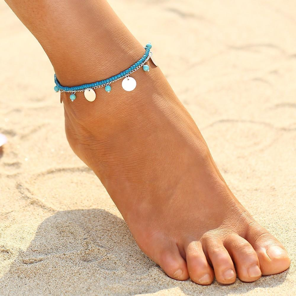 Moana Inspired Hawaiian Anklet