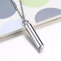 Sauce Stainless Steel Capsule Pendant