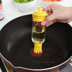2-in-1 Refillable Honey Oil Brush Bottle