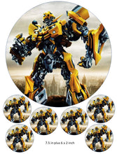 Bumblebee Cake and Cupcake Toppers, Transformers, Birthdays, Autobots, Optimus