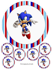Sonic the Hedgehog Cake and Cupcake Toppers, Gaming, PlayStation, Xbox, PC
