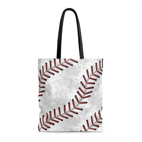 Baseball Stitches Tote Bag