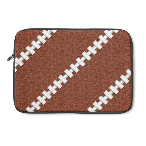 Football Stitches Laptop Sleeve
