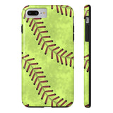 Softball Stitches Phone cases