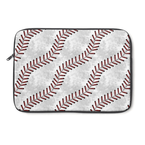 Baseball Stitches Laptop Sleeve