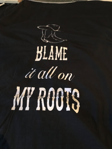 Blame My Roots FH Panel  CL