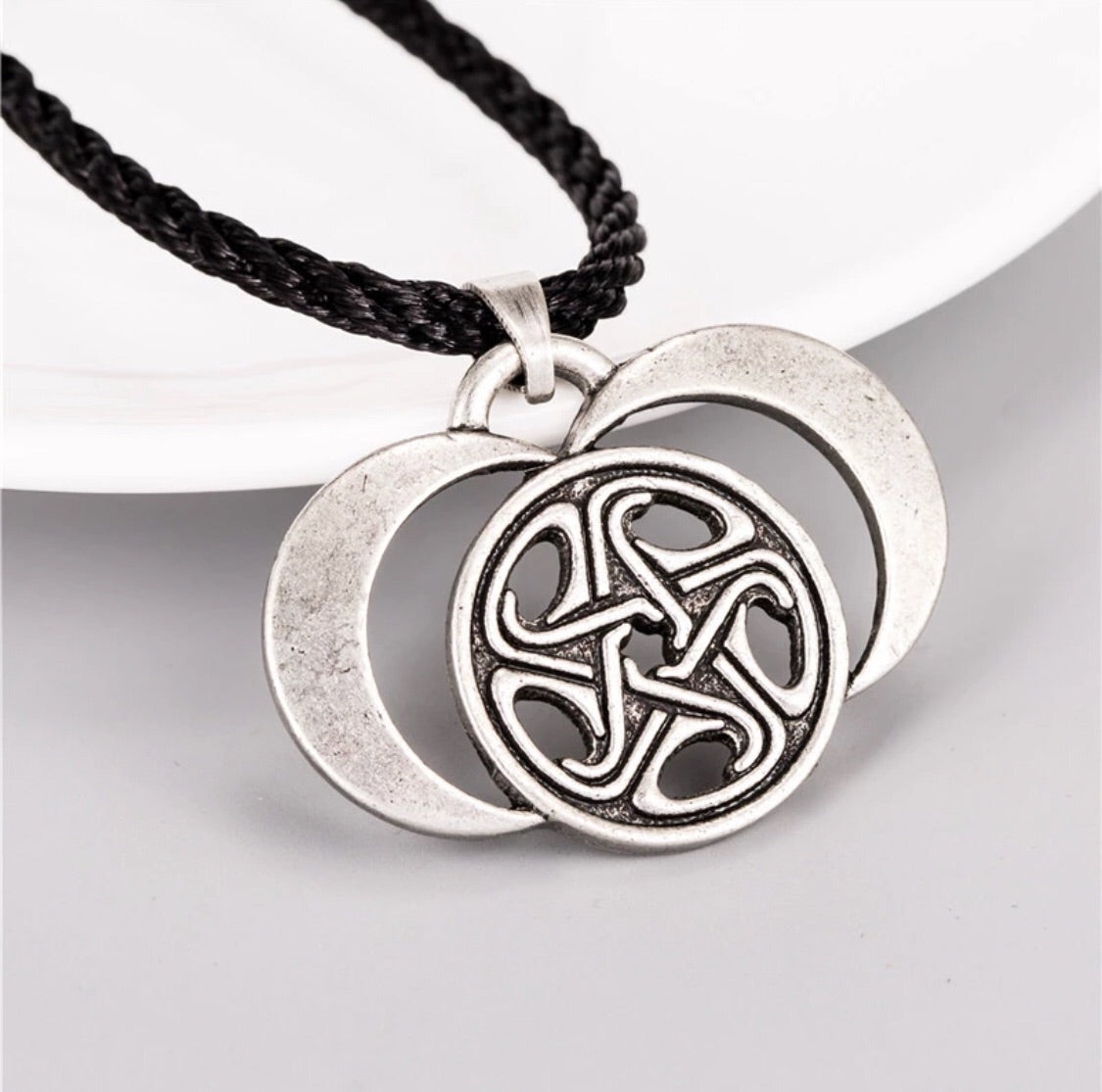 hecate goddess product pendant needs magickal symbol greek of feminine wheel and medusa