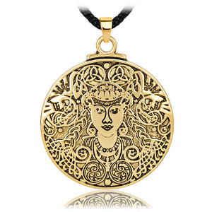 Brigid Celtic Goddess Necklace