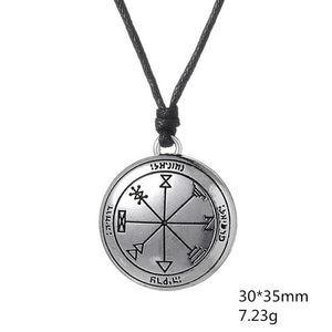 Alchemy First Pentacle of Jupiter Key of Solomon Pendant Pagan Wiccan Tailsman