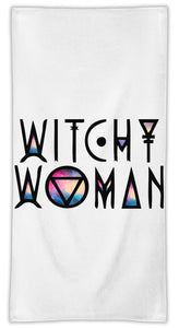 Witchy Woman MicroFiber|  Towel Eco-Friendly Material | Machine Washable |