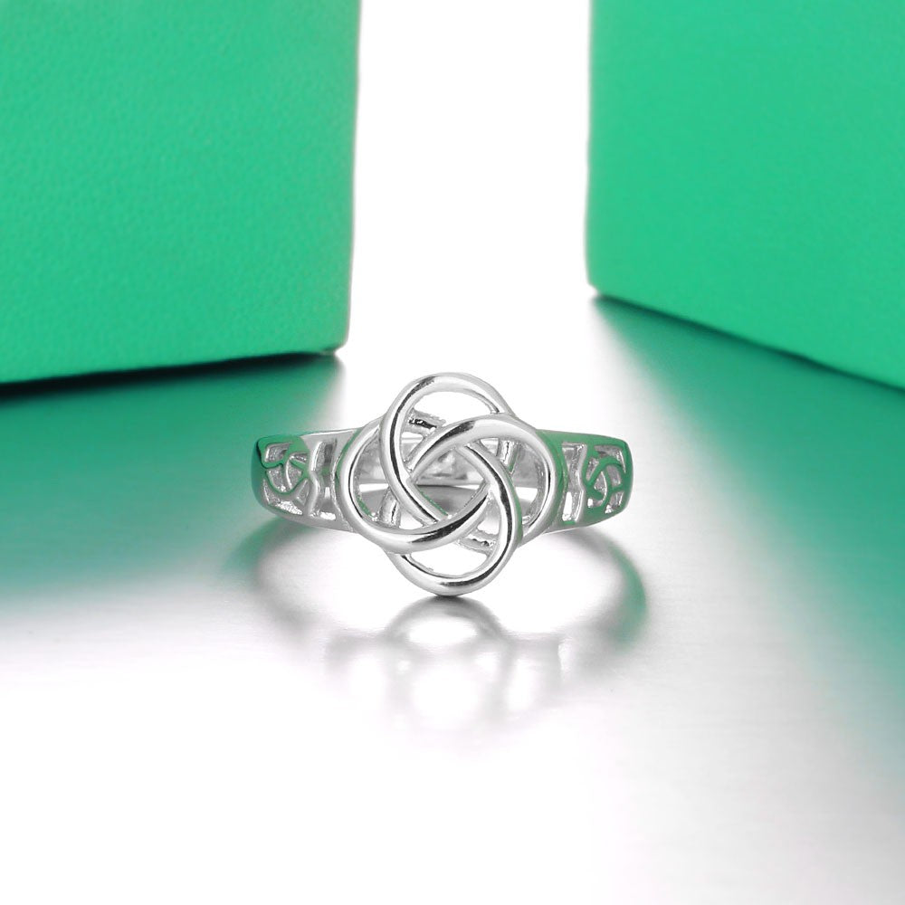 Celtic Knot 925 Sterling Silver Ring