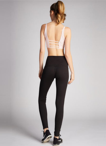 Mesh Patch Leggings
