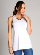 Bamboo Yarn Racer Back Top