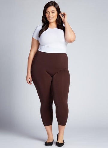 BAMBOO Plus Size 3/4 LEGGING
