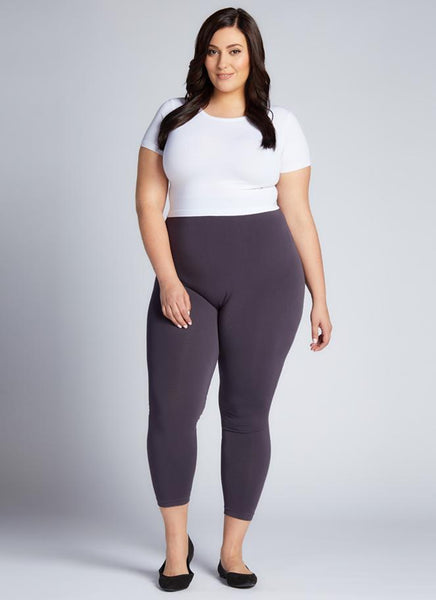 Plus Size 3/4 BAMBOO LEGGING